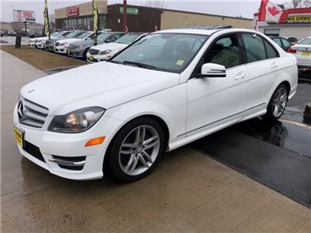 2013 MERCEDES-BENZ C-CLASS 300, Automatic, Leather, Sunroof, AWD, 59, 000km in Burlington, Ontario
