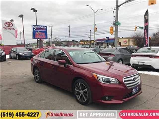 2015 SUBARU LEGACY 2.5i Limited   NAV   ROOF   LEATHER   ONE OWNER in London, Ontario