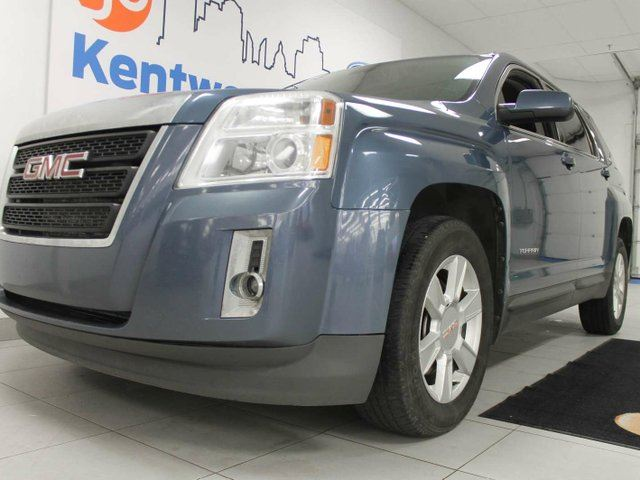 2011 GMC TERRAIN SLE-1 AWD- power leather seats- beautiful blue colour- It can't be beat in Edmonton, Alberta