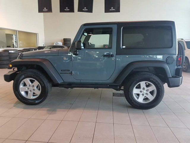 2015 JEEP WRANGLER Sport - PWR Acc's, CD, Bluetooth + Cruise Control! in Red Deer, Alberta