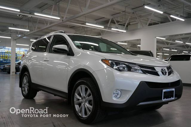 2015 TOYOTA RAV4 Limited-AWD-Leather Seats-Alarm-A/C in Port Moody, British Columbia