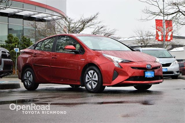 2017 TOYOTA PRIUS Technology, JUST ARRIVED! in Richmond, British Columbia