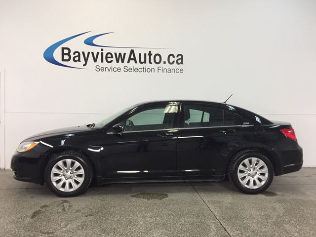2014 CHRYSLER 200 - 2.4L|ALLOYS|A/C|UCONNECT|CRUISE! in Belleville, Ontario