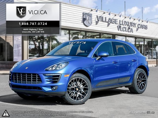2015 PORSCHE MACAN S NEW WHEELS & TIRES | OEM WINTER WHEEL PKG INCLD  WITH SENSORS | SPORT CHRONO | in Markham, Ontario