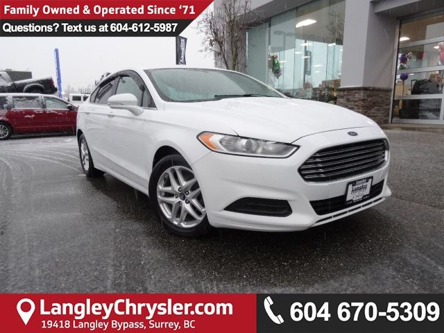 2015 FORD FUSION SE *ACCIDENT FREE * DEALER INSPECTED * CERTIFIED * in Surrey, British Columbia