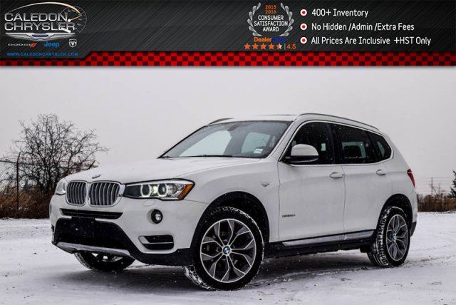 2015 BMW X3 xDrive28d in Bolton, Ontario