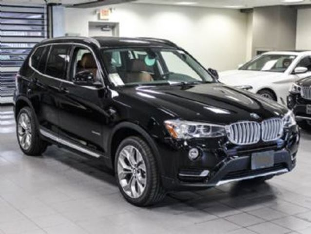 2017 BMW X3 28i xDrive w/Premium Package Enhanced in Mississauga, Ontario