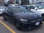 2017 Mercedes-Benz C-Class 300 AWD Sport and Night Package in Mississauga, Ontario