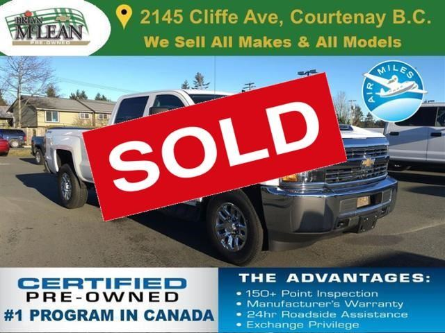 2017 CHEVROLET SILVERADO 3500  LT in Courtenay, British Columbia