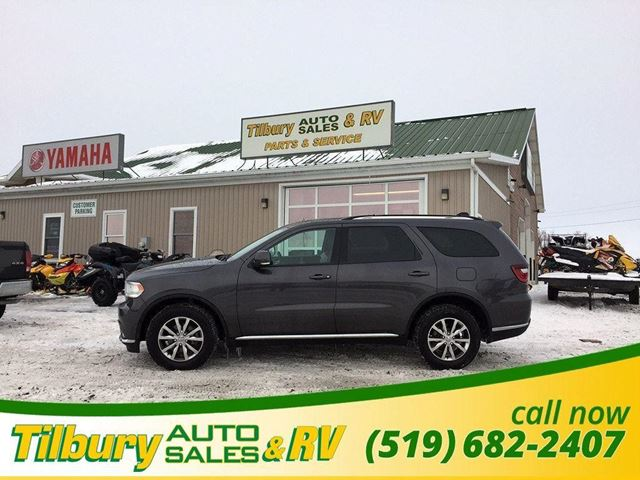 2016 Dodge Durango Limited. LEATHER. PUSH TO START. SUNROOF. in Tilbury, Ontario