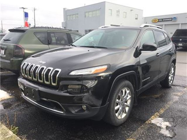 2016 JEEP CHEROKEE Limited ONE OWNER!!! in Simcoe, Ontario