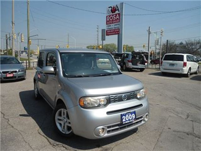 2009 NISSAN CUBE 5DR AUTO LOW KM NO ACCIDENT 4 NEW TIRES  AC PW PL in Oakville, Ontario