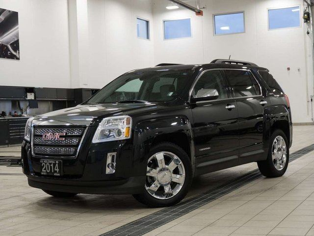 2014 GMC TERRAIN SLT FWD w/Leather and Navigation in Kelowna, British Columbia
