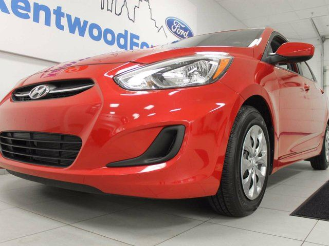 2017 HYUNDAI ACCENT Accent with heated seats! It's red hot! in Edmonton, Alberta