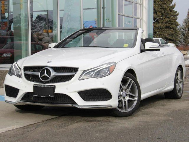 2017 MERCEDES-BENZ E-CLASS E 400 2dr Cabriolet in Kamloops, British Columbia