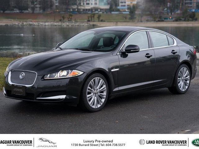 2012 JAGUAR XF Portfolio in Vancouver, British Columbia
