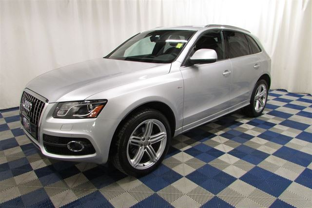 2011 AUDI Q5 S-LINE Premium AWD/NAV/SUNROOF/HTD SEATS/LEATHER in Winnipeg, Manitoba