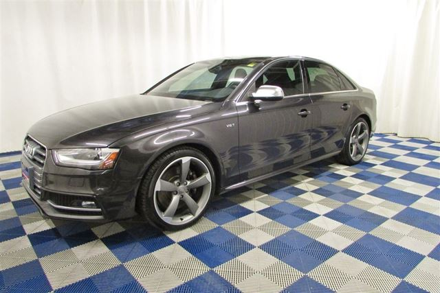 2013 AUDI S4 Premium AWD/NAV/LEATHER/REAR CAM/LOADED!! in Winnipeg, Manitoba