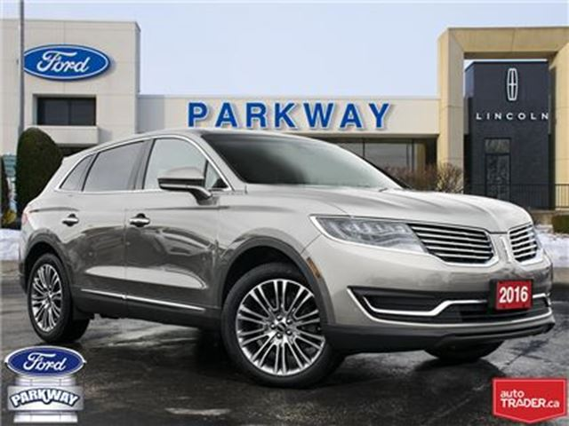 2016 LINCOLN MKX AWD  1-OWNER  ACCIDENT FREE  $319 BIWEEKLY $0 DOWN in Waterloo, Ontario