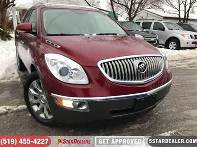 2011 BUICK ENCLAVE CXL   AWD   NAV   LEATHER   ROOF   7PASS in London, Ontario