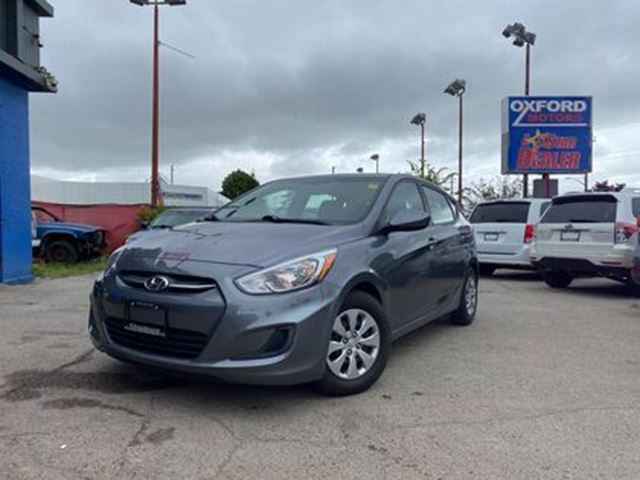 2017 HYUNDAI ACCENT GL   ONE OWNER   HEATED SEATS   BLUETOOTH in London, Ontario