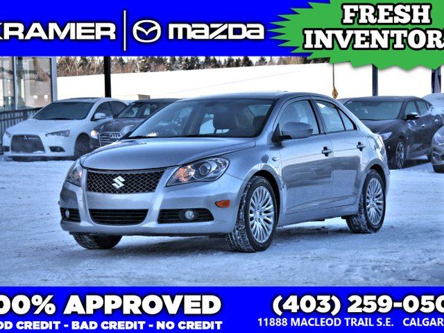 2011 SUZUKI KAZASHI Sport AWD w/leather in Calgary, Alberta