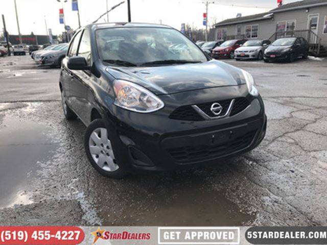 2016 NISSAN MICRA SV   ONE OWNER   BLUETOOTH in London, Ontario