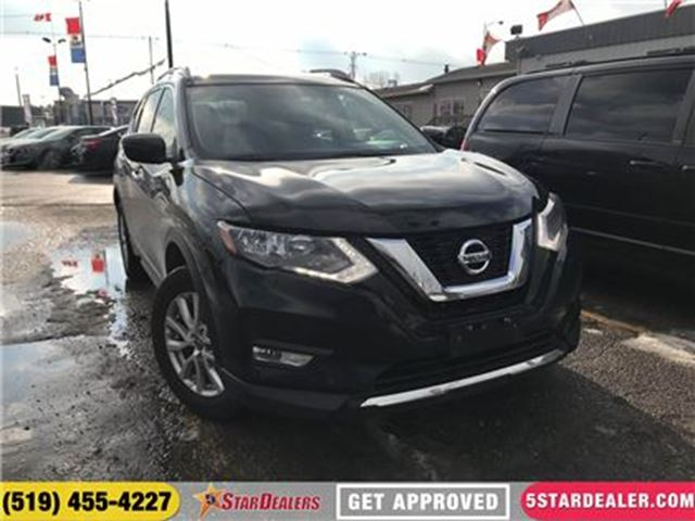 2017 NISSAN ROGUE SV   AWD   ONE OWNER   CAM   HEATED SEATS in London, Ontario