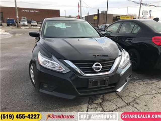 2017 NISSAN ALTIMA 2.5 S   CAM   ONE OWNER   HEATED SEATS in London, Ontario