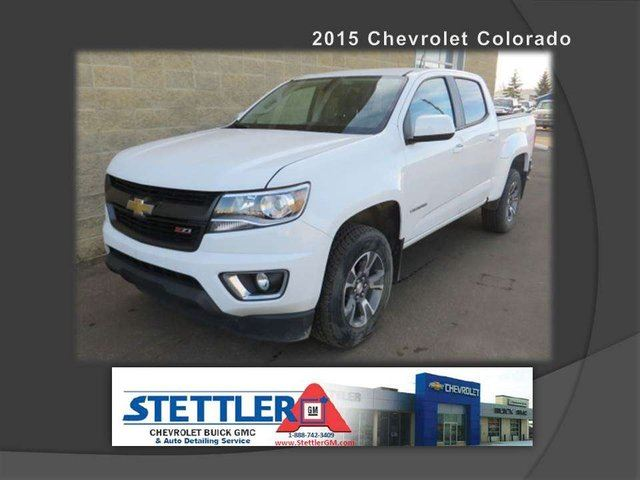 2015 Chevrolet Colorado Z71 in Stettler, Alberta