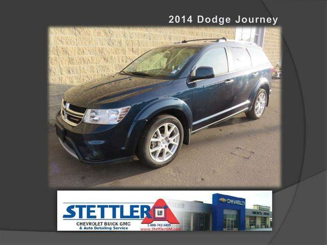 2014 Dodge Journey R/T 4dr All-wheel Drive in Stettler, Alberta