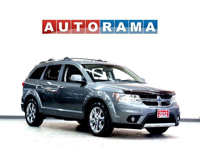 2012 Dodge Journey RT 4WD 7 PASSENGER LEATHER SUNROOF in North York, Ontario
