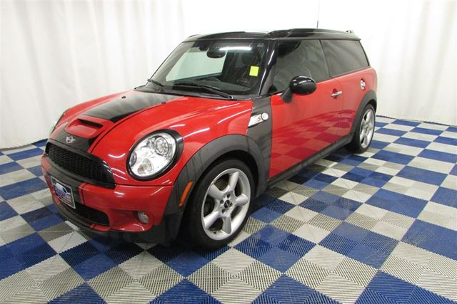 2010 MINI COOPER HTD SEATS/LOW KM/LEATHER/SUNROOF in Winnipeg, Manitoba