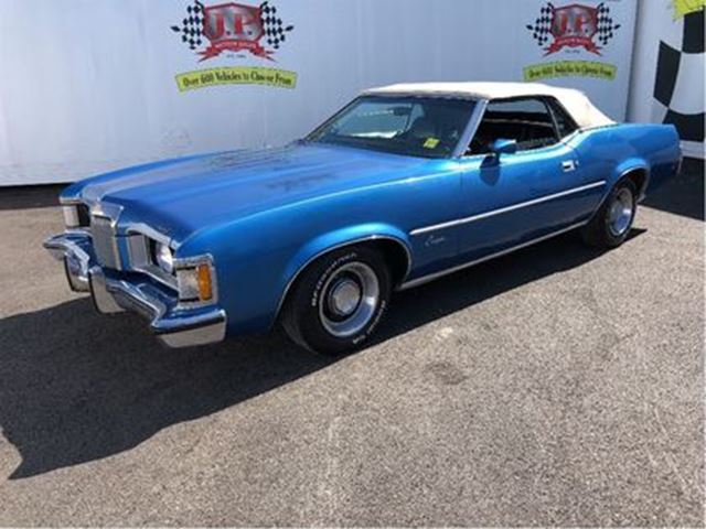 1973 MERCURY COUGAR XR7, Automatic, Convertible, Leather in Burlington, Ontario