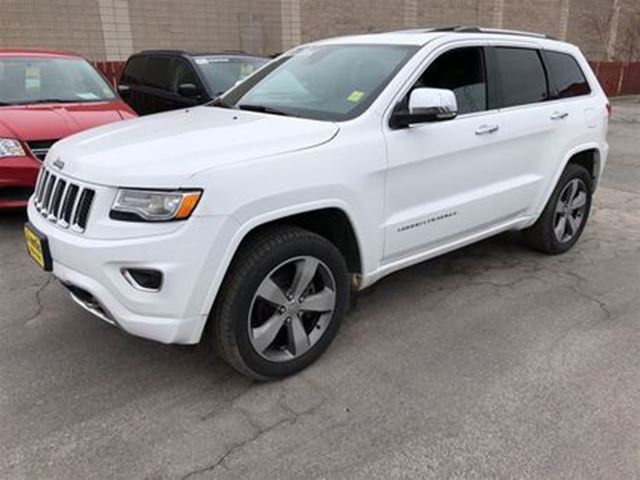 2015 JEEP GRAND CHEROKEE Overland, Auto, Navigation, Leather, Sunroof, 4x4 in Burlington, Ontario