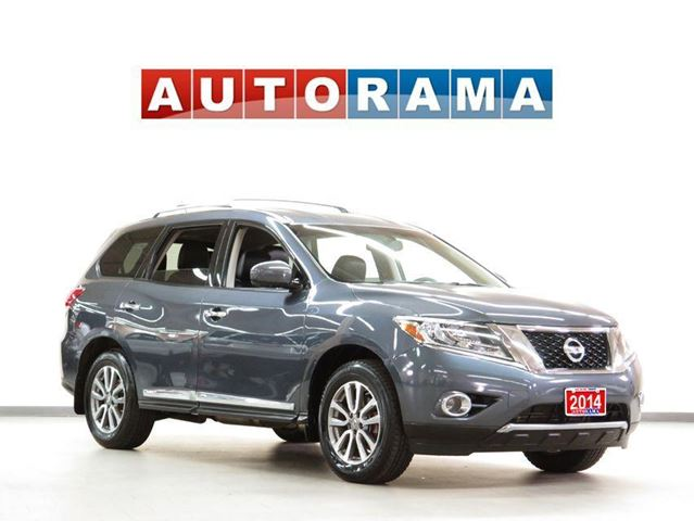 2014 Nissan Pathfinder PLATINUMNAVIGATION LEATHER SUNROOF 4WD 7 PASSENGER in North York, Ontario