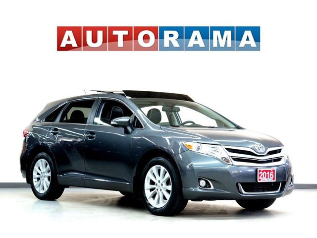 2016 TOYOTA Venza NAVIGATION LEATHER PAN SUNROOF 4WD BACKUP CAMERA in North York, Ontario