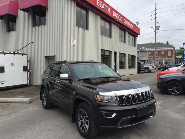 2017 JEEP GRAND CHEROKEE Limited in Brockville, Ontario