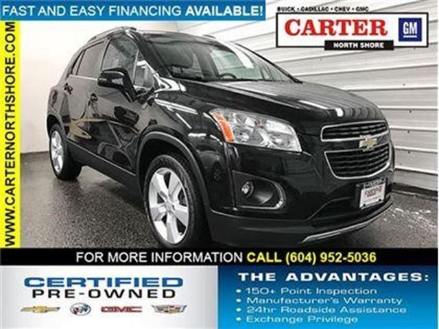 2013 CHEVROLET TRAX LTZ in North Vancouver, British Columbia