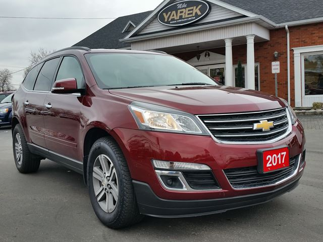 2017 Chevrolet Traverse LT AWD, NAV, Leather Heated Seats, Remote Start, Pwr Gate in Paris, Ontario