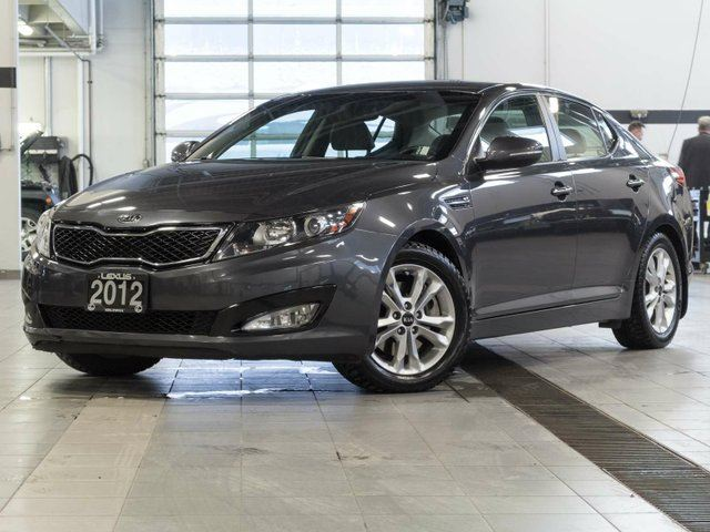 2012 KIA OPTIMA EX T w/Heated Leather Seats in Kelowna, British Columbia