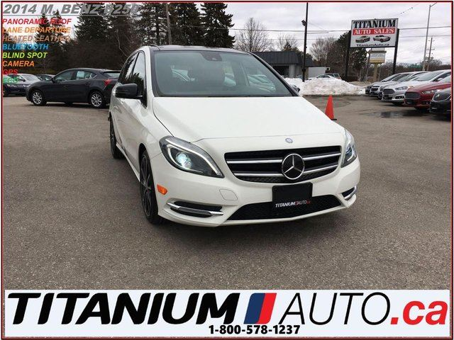 2014 MERCEDES-BENZ B-Class AMG+Camera+GPS+Pano Roof+Blind Spot & Lane Assist+ in London, Ontario