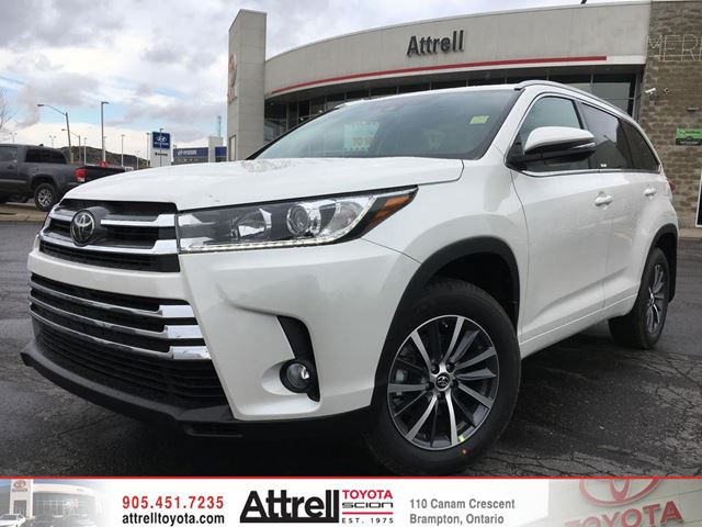 2018 toyota highlander white blizzard pearl attrell. Black Bedroom Furniture Sets. Home Design Ideas