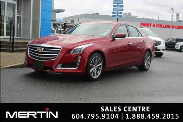 2017 CADILLAC CTS Luxury Collection AWD in Chilliwack, British Columbia