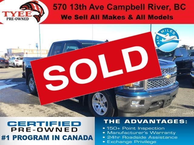 2015 CHEVROLET SILVERADO 1500 LT in Campbell River, British Columbia