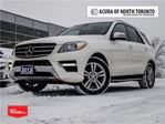2013 Mercedes-Benz M-Class ML350 Bluetec 4matic Accident Free Navigation Panoramic in Thornhill, Ontario
