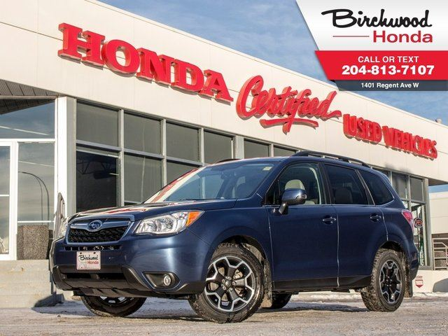 2014 SUBARU FORESTER 2.5i Touring in Winnipeg, Manitoba