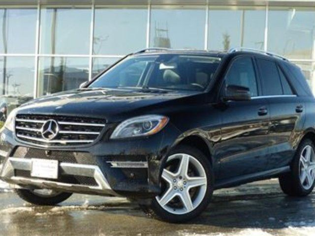 2014 MERCEDES-BENZ M-CLASS Bluetec 4matic in North Vancouver, British Columbia