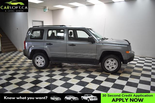 2014 JEEP PATRIOT Sport/North 4X4 - ALLOY RIMS * A/C * CRUISE in Kingston, Ontario