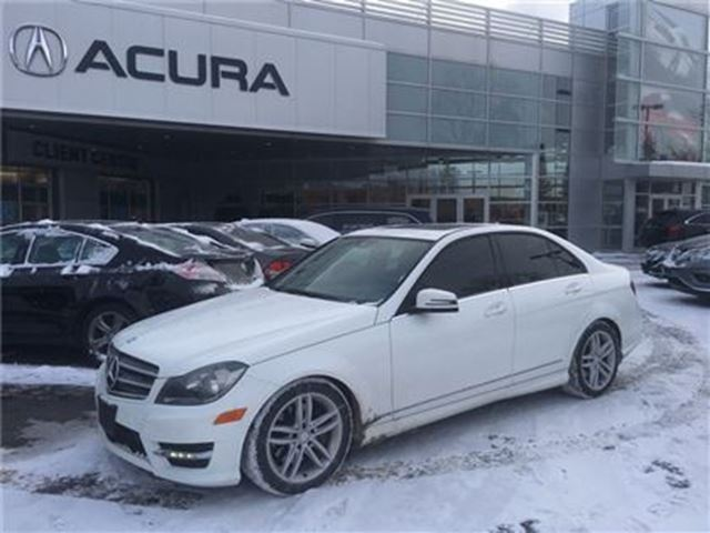 2014 MERCEDES-BENZ C-CLASS C300   4MATIC   NAVI   SUNROOF   NEWTIRES   MINT in Burlington, Ontario